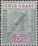 Stamp Gold Coast Catalog number: 30
