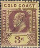 Stamp Gold Coast Catalog number: 54