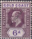 Stamp Gold Coast Catalog number: 55