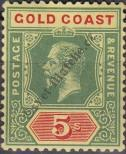 Stamp Gold Coast Catalog number: 71
