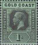 Stamp Gold Coast Catalog number: 82