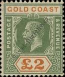 Stamp Gold Coast Catalog number: 87