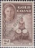 Stamp Gold Coast Catalog number: 123