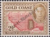 Stamp Gold Coast Catalog number: 124