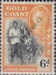 Stamp Gold Coast Catalog number: 127