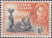 Stamp Gold Coast Catalog number: 128