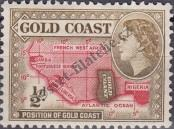 Stamp Gold Coast Catalog number: 138