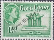 Stamp Gold Coast Catalog number: 140