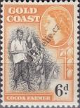 Stamp Gold Coast Catalog number: 145