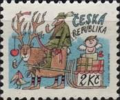 Stamp Czech republic Catalog number: 28