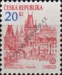 Stamp Czech republic Catalog number: 18