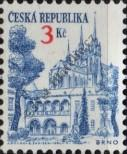 Stamp Czech republic Catalog number: 35