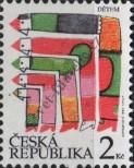 Stamp Czech republic Catalog number: 44