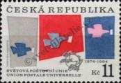 Stamp Czech republic Catalog number: 48