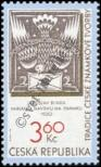 Stamp Czech republic Catalog number: 101