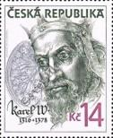 Stamp Czech republic Catalog number: 107