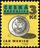 Stamp Czech republic Catalog number: 68