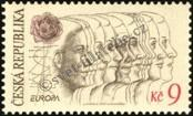Stamp Czech republic Catalog number: 76