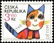 Stamp Czech republic Catalog number: 80