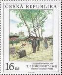 Stamp Czech republic Catalog number: 163