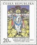 Stamp Czech republic Catalog number: 343