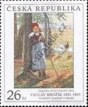 Stamp Czech republic Catalog number: 310
