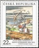 Stamp Czech republic Catalog number: 417
