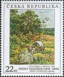 Stamp Czech republic Catalog number: 451