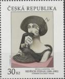 Stamp Czech republic Catalog number: 909