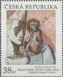 Stamp Czech republic Catalog number: 910