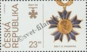 Stamp Czech republic Catalog number: 1001