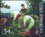 Stamp Czech republic Catalog number: 616