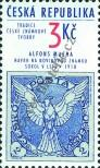 Stamp Czech republic Catalog number: 63