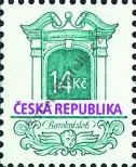 Stamp Czech republic Catalog number: 93