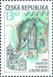 Stamp Czech republic Catalog number: 284