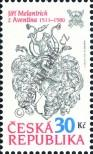 Stamp Czech republic Catalog number: 668