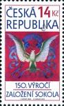 Stamp Czech republic Catalog number: 710