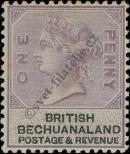 Stamp Bechuanaland Catalog number: 10