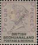 Stamp Bechuanaland Catalog number: 13