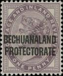 Stamp Bechuanaland Catalog number: 47