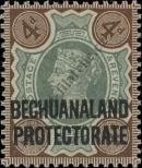 Stamp Bechuanaland Catalog number: 50