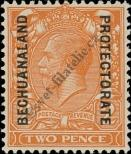 Stamp Bechuanaland Catalog number: 77