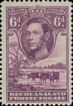 Stamp Bechuanaland Catalog number: 107