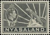Stamp Nyasaland Catalog number: 57