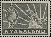 Stamp Nyasaland Catalog number: 58