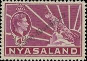 Stamp Nyasaland Catalog number: 61