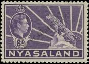 Stamp Nyasaland Catalog number: 62