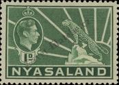 Stamp Nyasaland Catalog number: 55