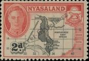 Stamp Nyasaland Catalog number: 73