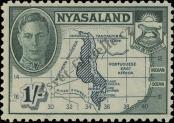 Stamp Nyasaland Catalog number: 78